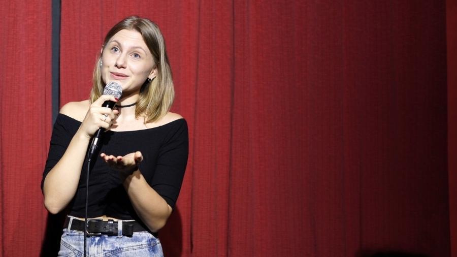 Comediante alemã Lea Jahn, 26, vive no Brasil há quatro anos - Arquivo pessoal