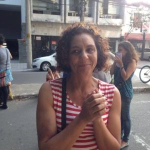 Rosemary Segurado é mãe de uma aluna de 17 anos que está na ocupação - Hugo Araújo/UOL