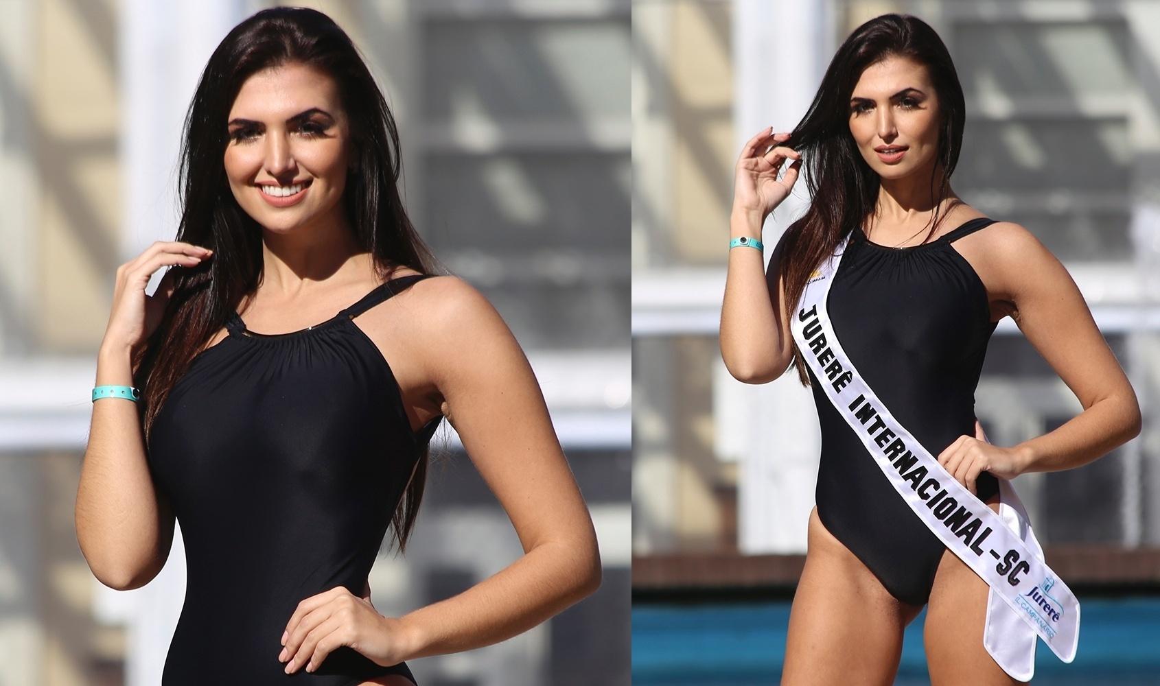 23.jun.2016 - JURERÊ INTERNACIONAL (SC) - Nayara Silveira, 26, formada em cosmetologia e estética, modelo e empresária