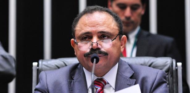 Waldir Maranhão (PP-MA) no plenário da Câmara