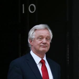 David Davis, ministro britânico para a saída da UE