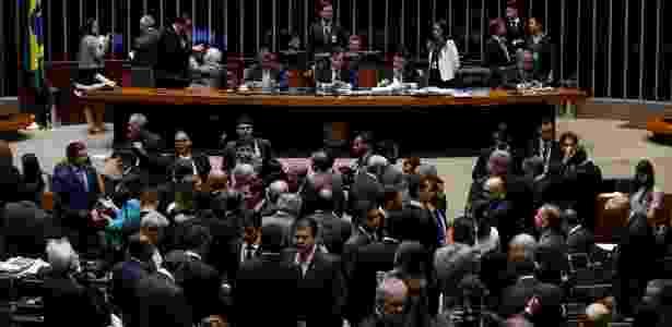 Rodrigo Maia (DEM-RJ) preside sessão no plenário da Câmara - Pedro Ladeira/Folhapress