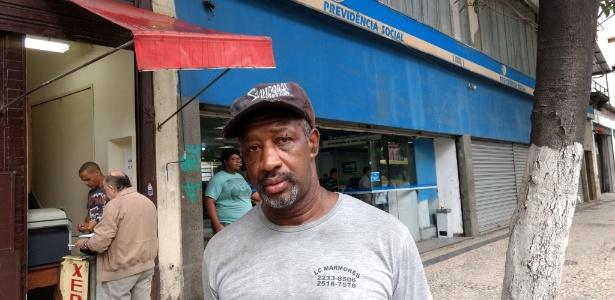 O motorista Amilton Correia Balduíno tenta se aposentar antes da reforma da Previdência