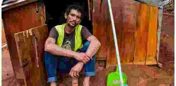 5 'Avenida São João, sem número': os moradores que construíram casas inteiras nas ruas de São Paulo - Guilherme Henrique/BBC Brasil - Guilherme Henrique/BBC Brasil