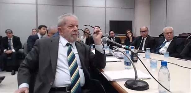 Moro e Lula ficaram frente a frente pela primeira vez no âmbito da Lava Jato