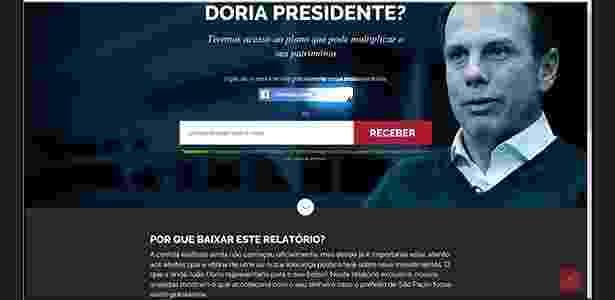 Propaganda em página de internet da empresa Empiricus - Reprodução/UOL