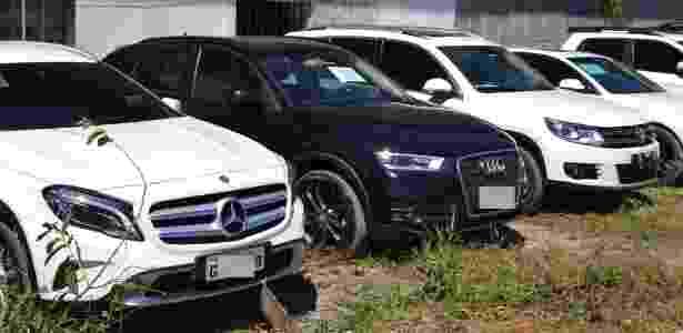 Carros apreendidos na operação Brabo - Divulgação / Polícia Federal - Divulgação / Polícia Federal