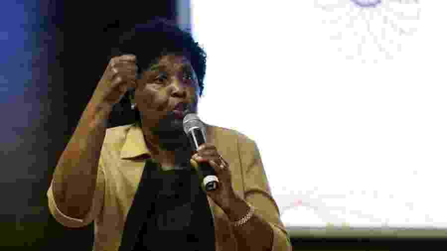 Benedita da Silva é deputada federal e pretendia formar uma chapa com Marcelo Freixo, do PSOL - Marcelo Camargo/Agência Brasil