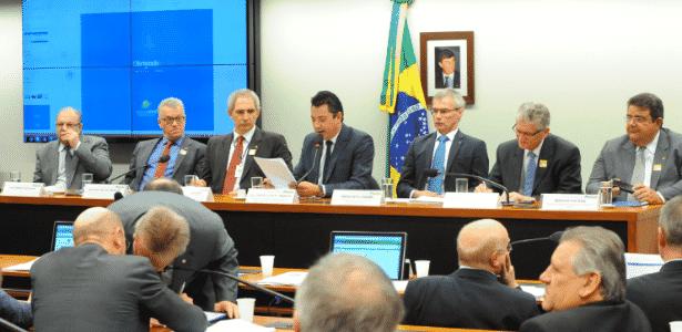 12.jul.2017 - Deputados participam de reunião na comissão de Agricultura, Pecuária, Abastecimento e Desenvolvimento Rural - Luis Macedo/Câmara dos Deputados