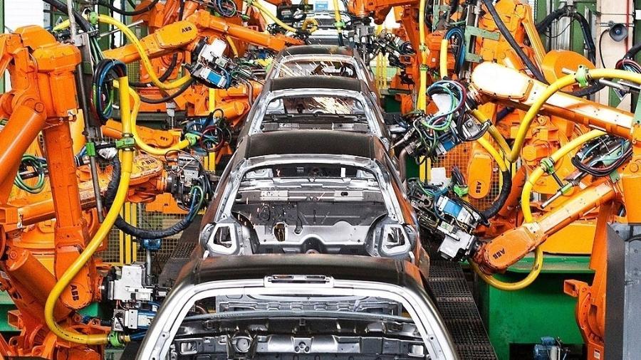 Linha de montagem da Ford, em São Bernardo do Campo (SO) - Rodrigo Paiva/Folhapress