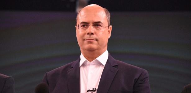 O candidato Wilson Witzel, do PSC, disputa a eleição para o governo do Rio de Janeiro