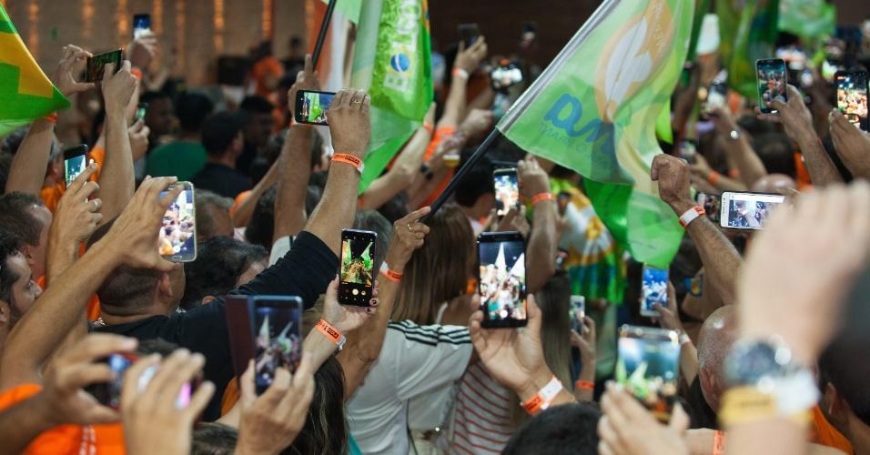 28.out.2018 - Romeu Zema (Novo) é o novo governador de Minas Gerais; venceu o adversário, Antonio Anastasia (PSDB) com 71,8% dos votos