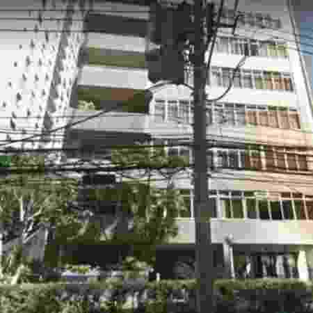 Criminosos fizeram arrastão no edifício Itabiri, localizado na Alameda Casa Branca, área nobre de São Paulo - Reprodução/ Google Street View