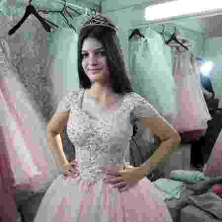 Brenda Rocha Carvalho sonhava com sua festa de 15 anos - Acervo Pessoal