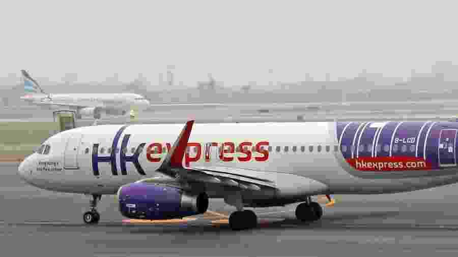Avião da Hong Kong Express - Wikimedia Commons