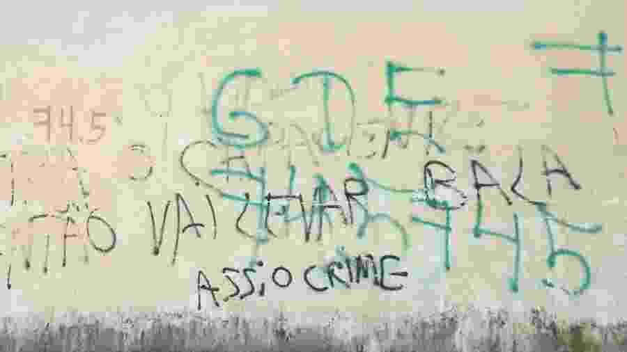 Em bairro de Fortaleza dominado pela facção GDE, há ameaças a quem não entrar no local se identificando - Luís Adorno/UOL
