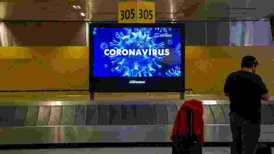 Passageiros relatam falta de fiscalização e orientação a quem chega ao Brasil em voos internacionais - Carol Coelho/Getty Images