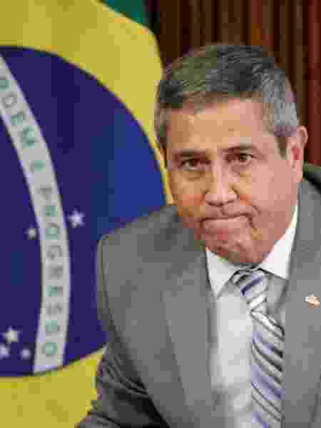 Ministro da Casa Civil, general Walter Braga Netto, passou a coordenar coletivas - UESLEI MARCELINO