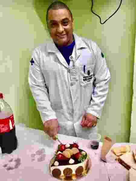 O auxiliar de enfermagem Eduardo Gomes da Silva, 48 anos, morto no Hospital Municipal Tide Setúbal, em São Miguel Paulista, por suspeita de Covid-19  - Arquivo pessoal - Arquivo pessoal