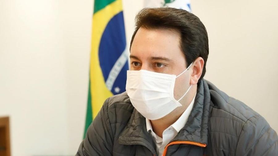 O governador do Paraná, Ratinho Junior (PSD), fez promessa de imunização total da população adulta hoje - Reprodução/Instagram