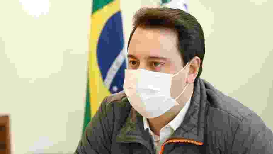 Ratinho Junior (PSD), governador do Paraná, anunciou regras mais rígidas de isolamento em sete regiões - Reprodução/Instagram
