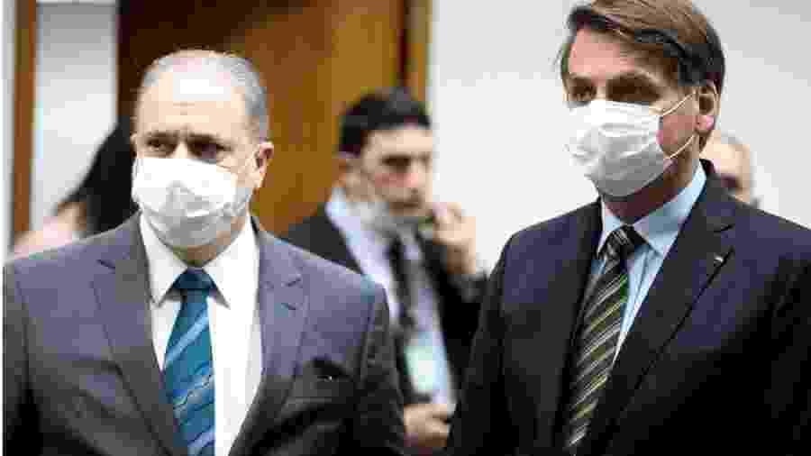 Augusto Aras defende que Bolsonaro realize depoimento por escrito ao STF - Foto: Marcos Corrêa/Presidência da República