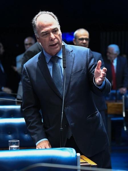 Fernando Bezerra Coelho (MDB-PE), líder do governo no Senado, em pronunciamento no plenário da Casa - Jane de Araújo/Agência Senado