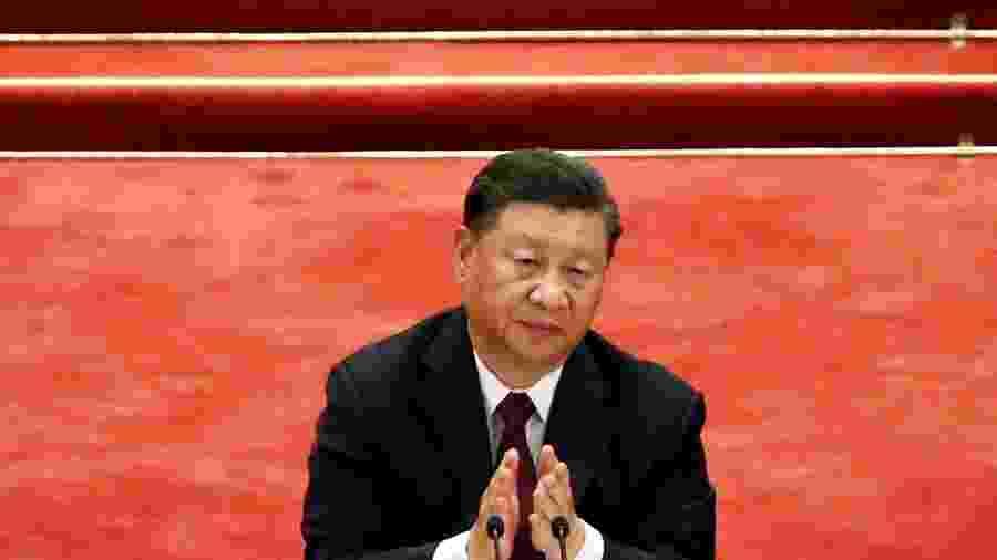 Presidente da China, Xi Jinping, em Pequim -