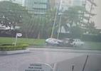 Vídeo mostra batida que causou morte de sargento e prisão de surfista no RJ - Reprodução de vídeo