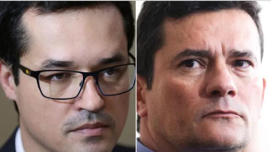 Deltan Dallagnol e Sergio Moro foram afetados por hacker - Fabio Rodrigues Pozzebom/Antonio Cruz/Agência Brasil