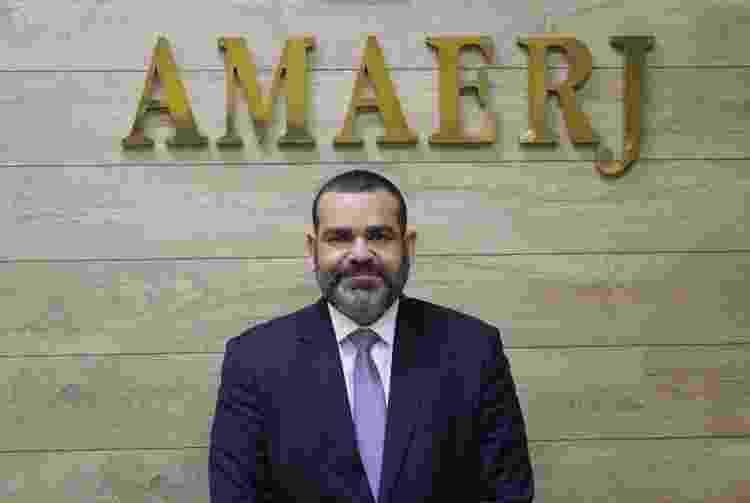 20.set.2021 - O presidente da Associação dos Magistrados do Rio (Amaerj), o juiz Felipe Gonçalves - Divulgação/Amaerj - Divulgação/Amaerj