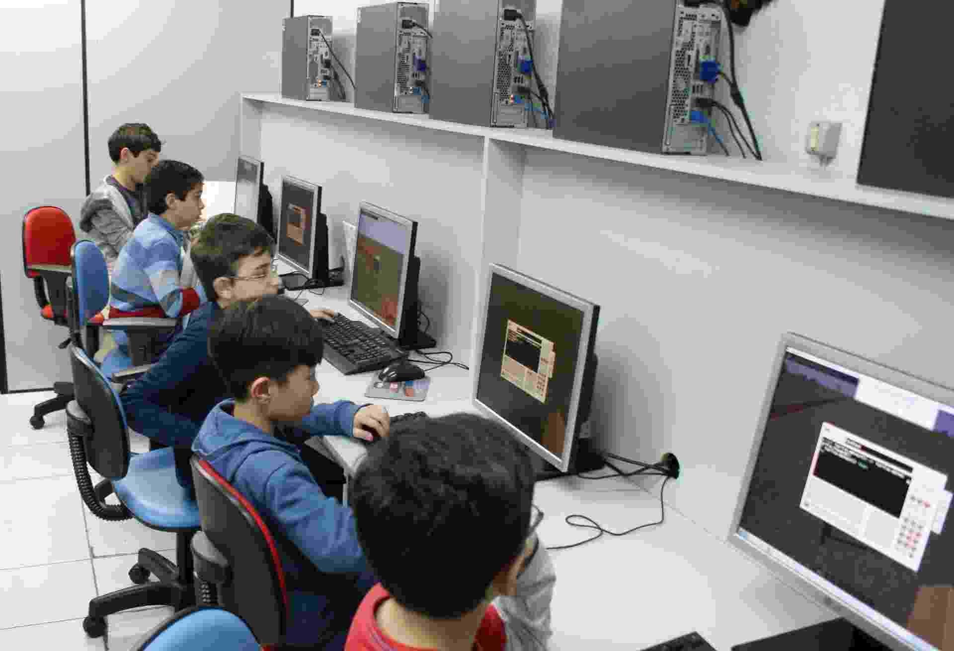 Franquia SuperGeeks, escola de programação para crianças e adolescentes - Divulgação