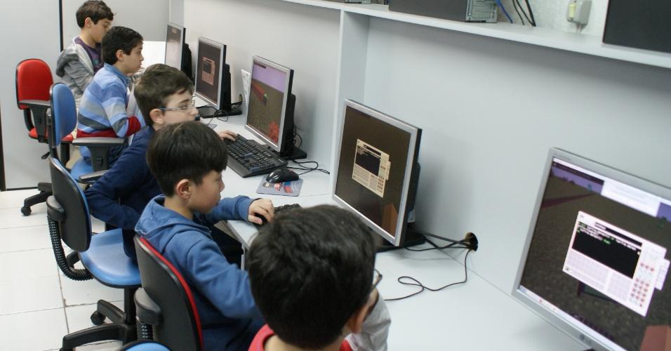 Franquia SuperGeeks, escola de programação para crianças e adolescentes