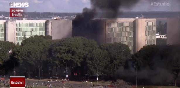 Brasília em chamas