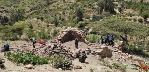 Ruínas da mesquisa do século 12