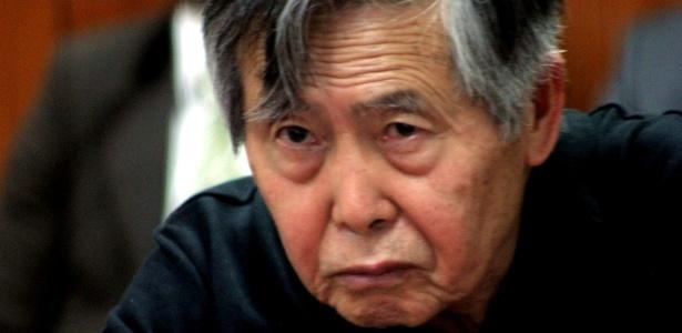 Fujimori está cumprindo uma sentença de 25 anos por corrupção e crimes contra os direitos humanos.