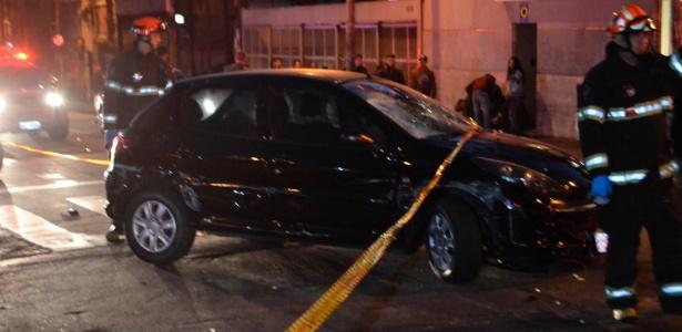 Motorista atropelou cinco pessoas e deixou duas em estado grave na rua Augusta