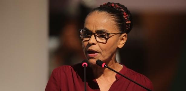 A pré-candidata da Rede à Presidência da República, Marina Silva