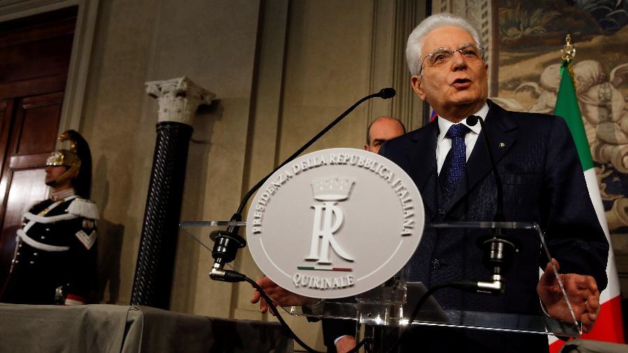 O presidente italiano, Sergio Mattarella, se mostrou satisfeito com recuperação do país, mas pediu cuidado - Alessandro Bianchi/Reuters