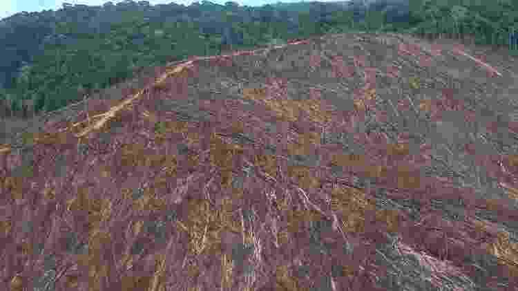 4.out.2018 - Imagem do Ibama mostra desmatamento em fazenda - Divulgação/Ibama - Divulgação/Ibama