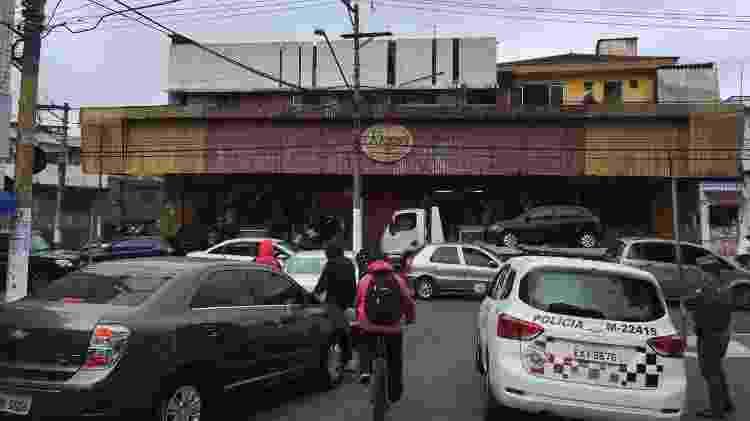Mercado Ricoy, na zona sul de SP, onde atua na segurança terceirizada a empresa KRP Valente Zeladoria Patrimonial - Luís Adorno/UOL