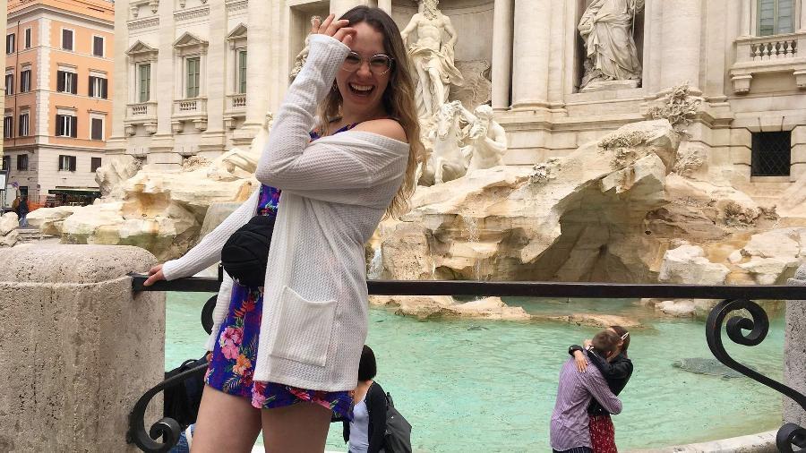 Turista canadense registra, sem querer, pedido de casamento na Fontana di Trevi, em Roma - Kennedy News and Media