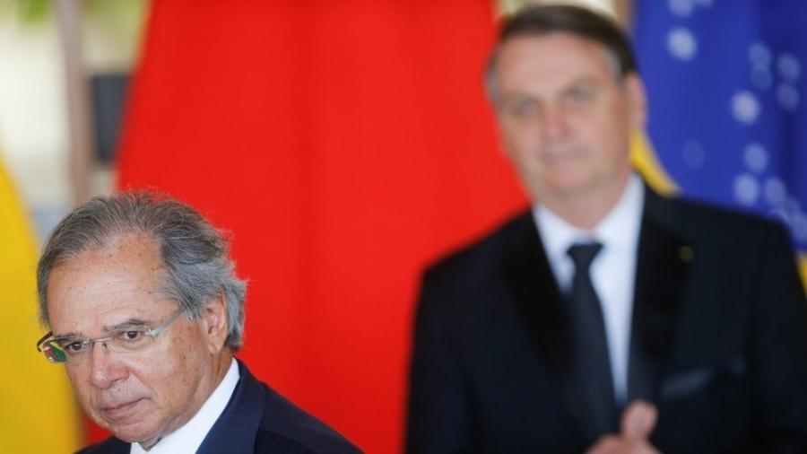 O ministro da Economia, Paulo Guedes, quer reduzir salários iniciais de servidores com alta remuneração - Reuters
