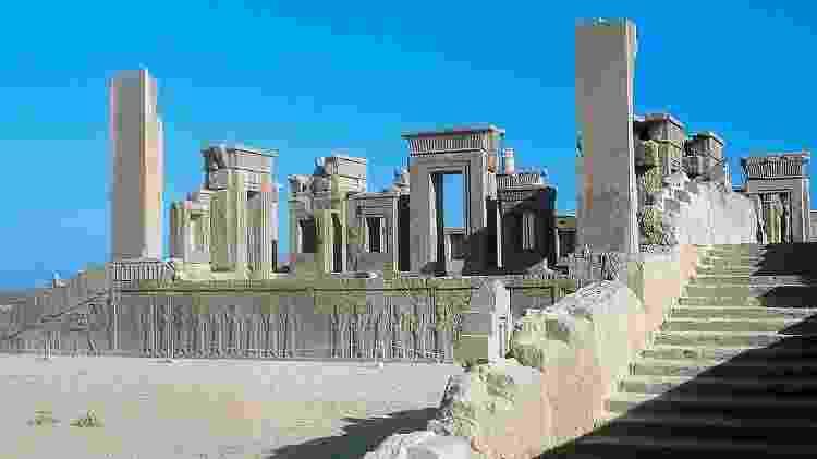 Todos as ruínas arquitetônicas de Persépolis são autênticas - Getty Images