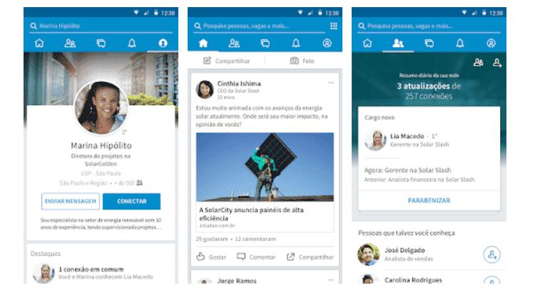 LinkedIn: aplicativos para conseguir um trabalho ou mudar de emprego - Reprodução - Reprodução