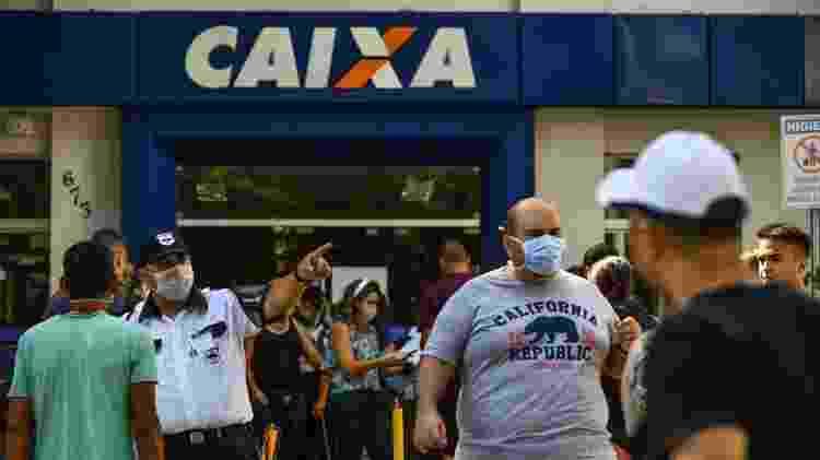 Fila na Caixa - Lucas Lacaz Ruiz/Estadão Conteúdo - Lucas Lacaz Ruiz/Estadão Conteúdo