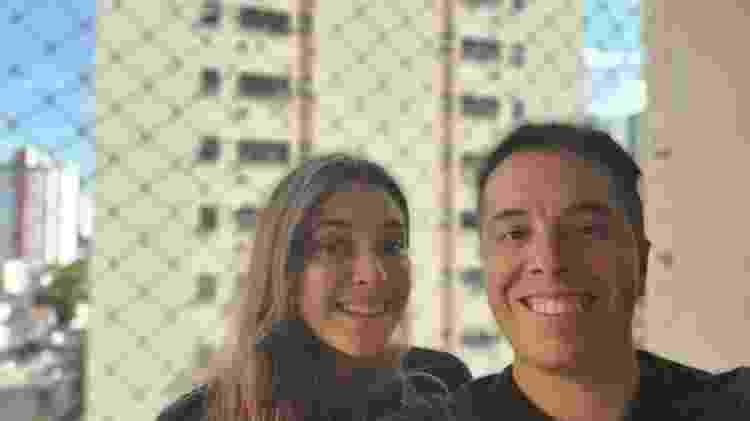 Câmera de selfie do Galaxy Z Flip com desfoque de fundo - Gabriel Francisco Ribeiro/UOL - Gabriel Francisco Ribeiro/UOL