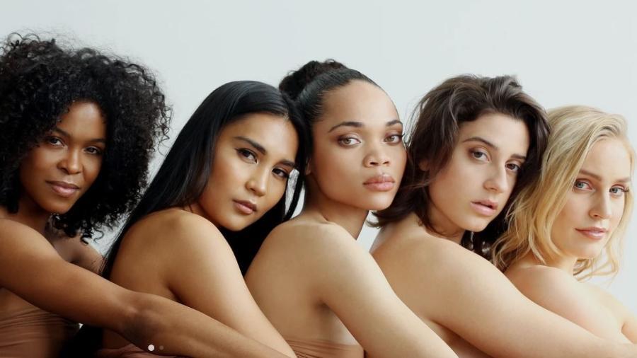 Marca americana Nude Barre tem produtos em cores para todos os tons de pele - Divulgação