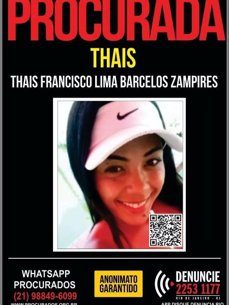 thais - Divulgação/Polícia Civil - Divulgação/Polícia Civil