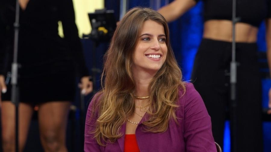 Maria Bopp durante o Altas Horas de ontem - Divulgação/TV Globo